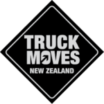 Truck Moves Black Transparent Logo